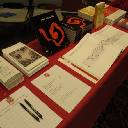 Art Founders at AAS 2012 Table Display