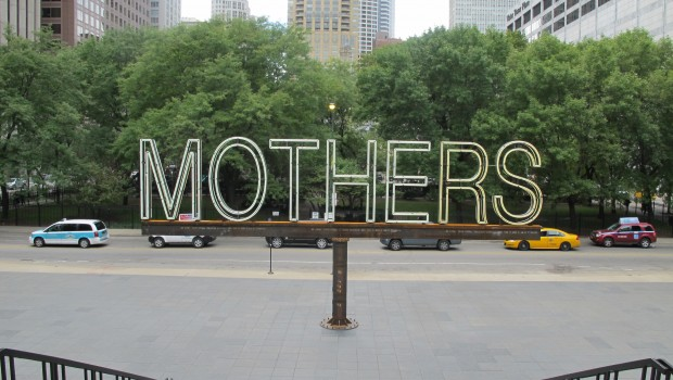 Martin Creed (British, b. 1968), Work No. 1357, MOTHERS, 2012.